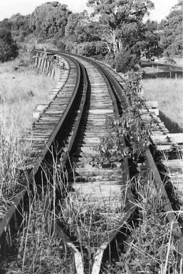 Tracks of Rail Viaduct