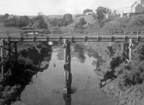 The Eltham Bridge ~1940.