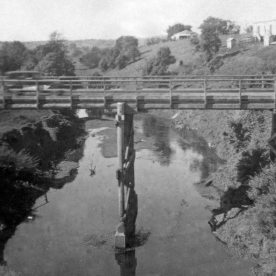 The Eltham Bridge ~1940.