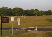 Bexhill Cricket Oval - Sam Trimble was a local Eltham Boy